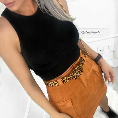 CROPPED TRICOT INÊS